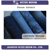 Cotton denim jeans fabric 4-16oz for female