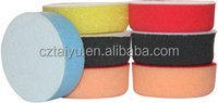 3 inch flat foam buffing pad 80mm car polishing pad