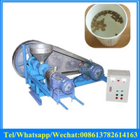 puffed fish feed extruding machine for floating pellet / automatic fish food make pelletizer