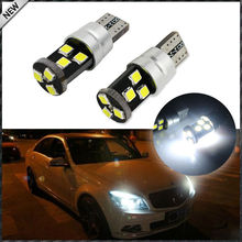 HID Match Xenon White 9-SMD-3030 CANbus Error Free T10 2825 W5W 168 194 LED Parking Light Bulbs