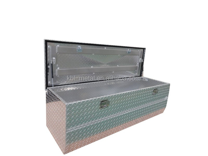 Customized Aluminum UTE/Truck Tool Box Top Opening Boxes