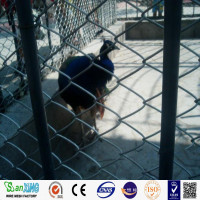 manufacturer price chain link fence rounded animal zoo fence