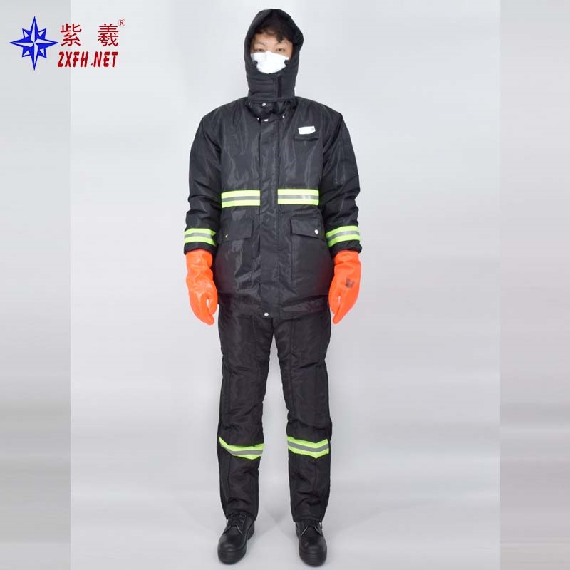 Winter Used Work Uniforms Reflective Padded Safety Jacket