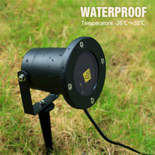 Fod-sports Newest Decolighting 20 Patterns Laser Light IP65 Waterproof R&G Landscape Projector with RF Remote Control Lights
