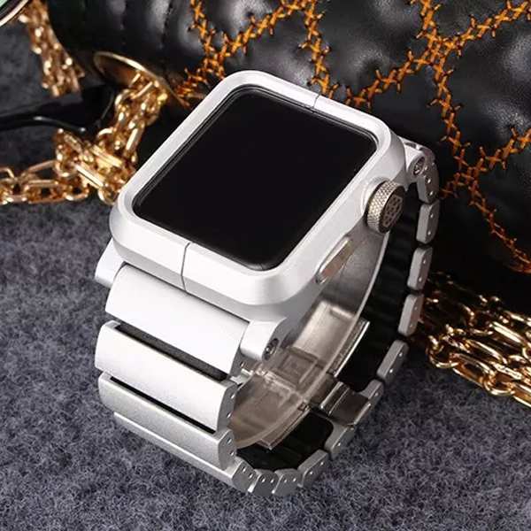 Factory wholesale Replacement Stainless Steel Wristband & watch case for Apple watch