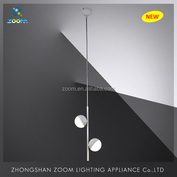 Led latest new pendant lamp for dinny room home decoration with two head