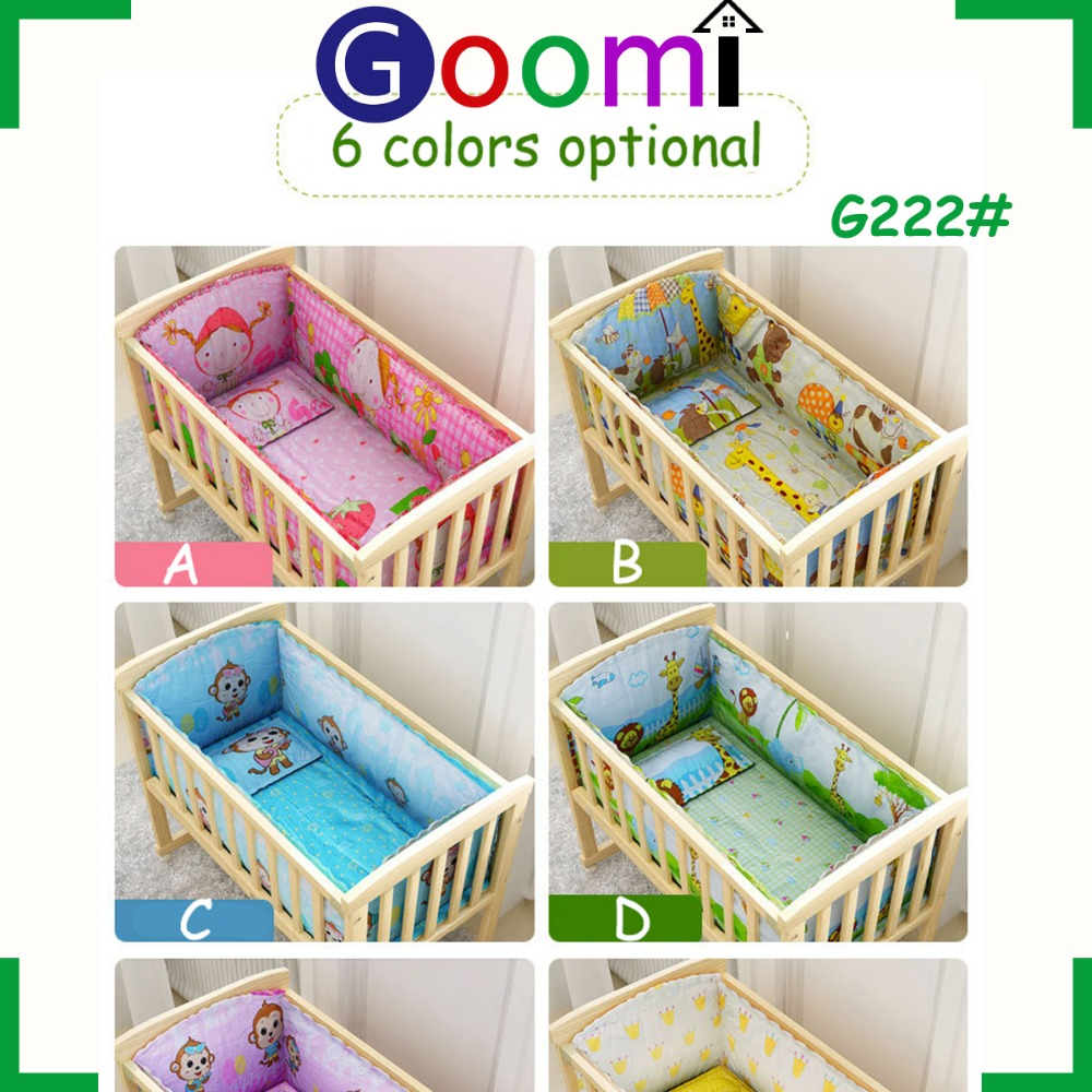 OEM ODM G222# Goomi Furniture Home Use Pine Solid Wood adult baby crib