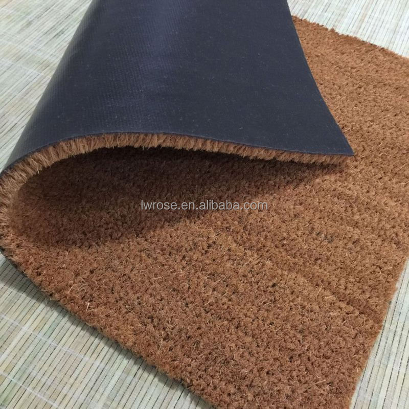Environmental blank door mat imitated coconut coir mat