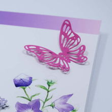 Beautiful hollowed out butterfly cutting dies for scrapbooking