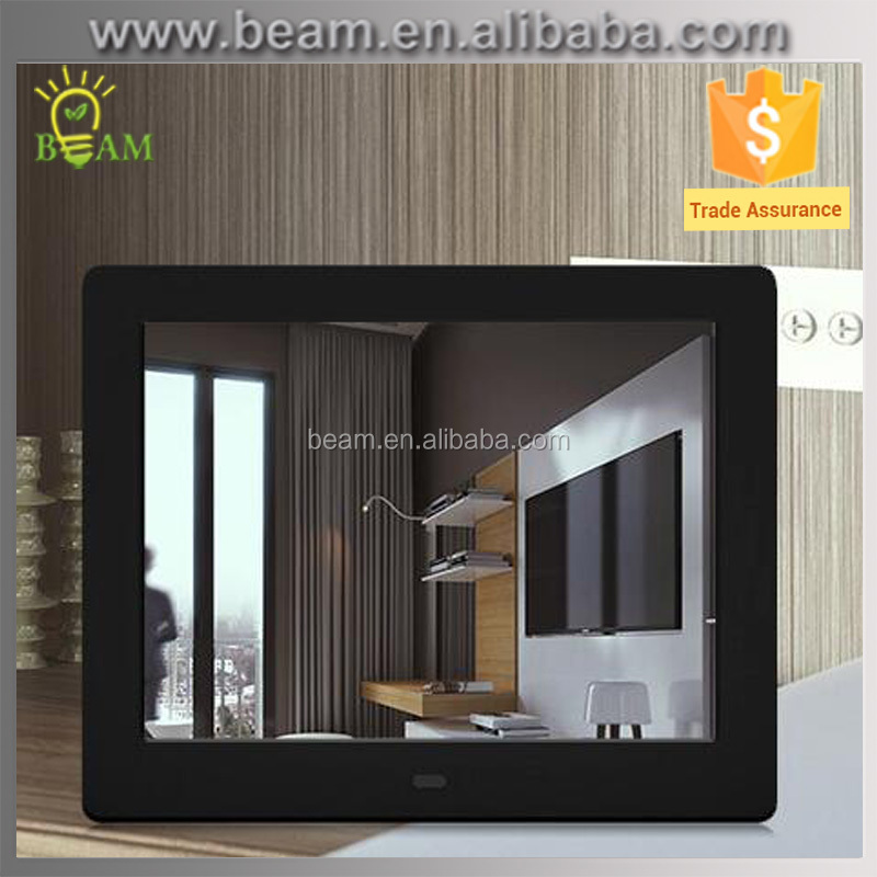 video/audio/picture/e-book frame digital photo frame 8 inch 800*600 led advertising display