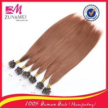 Grade 6A best selling and virgin hair unprocessed micro rings hair extension for black