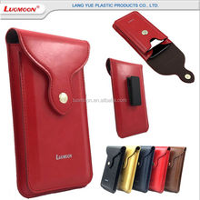 2 leyer leather pu outdoor bag mobile phone case cover for sony xperia z m 2 3 5 compact aqua
