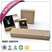 Luxury Handmade Custom Logo Printed Paper Jewelry Gift Box
