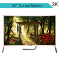 32inch curved surface FHD led display panel for family use