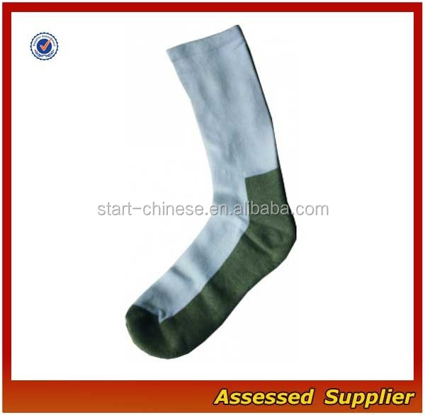 High Quality White Sport Army Wholesale 100% Bamboo Socks/Crew Custom 1005 Bamboo Thick Socks Shell1127