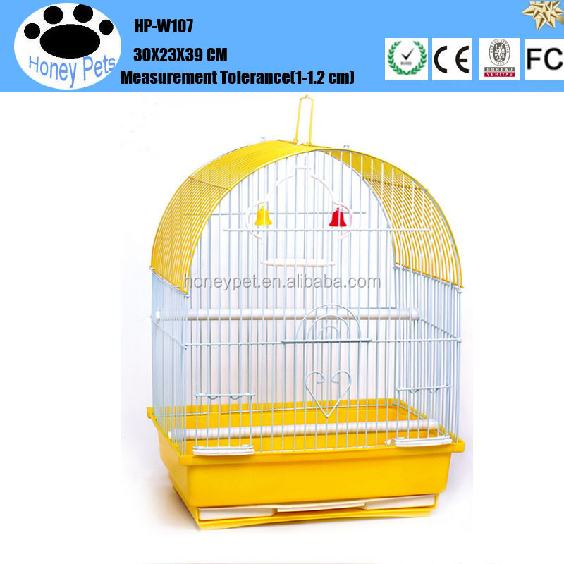 Hot sale kings outdoor white bird cages.