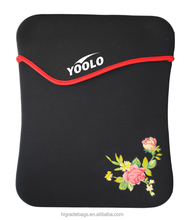 "14"" Lady pofoko neoprene laptop sleeve"