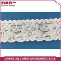 Elastic Lace Ribbon Scalloped Edged For Underwear