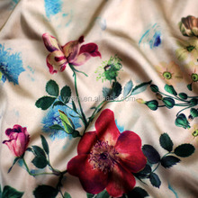 Yixin textile digital printing free sample soft polyester fabric harem pants women