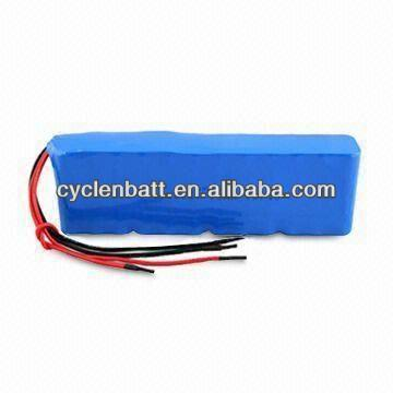 EV Li-ion battery pack and lithium ion car battery 48V 4400mah battery