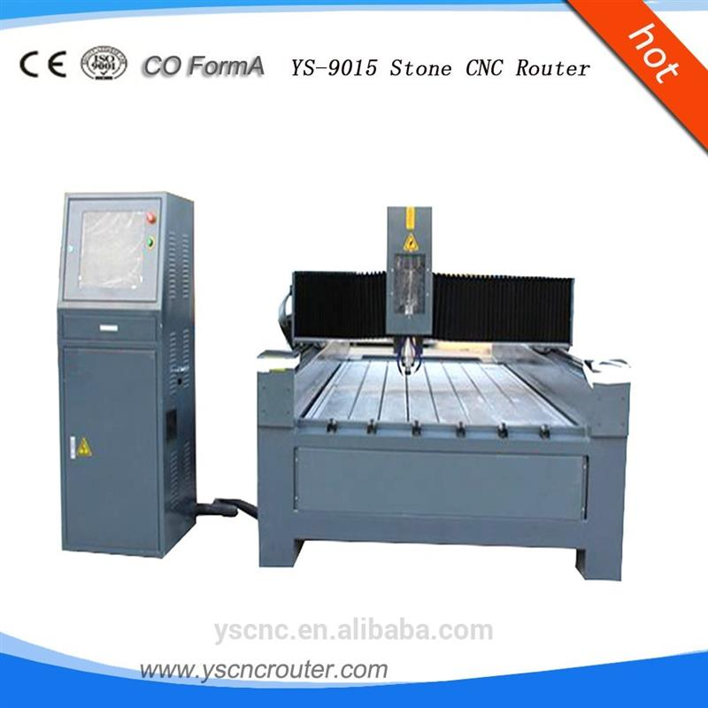 YS-9015 Marble Stone Cnc Router stone tumbling machine cnc stone engraving machine