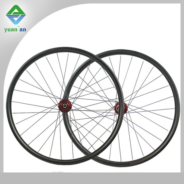 Chinese mtb bike parts toray t700 carbon fiber mountain bike wheel size 26er 27.5er 29er carbon mtb bike wheel
