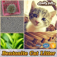 Natural clay clumping dog and cat litter toilet