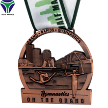 Low Prices Custom Graphic Design 3D Gymnastics Medal