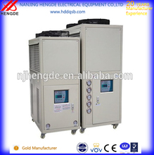 Industrial air cooled chiller to plastic machines to Russian Federation