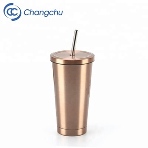 copper mug Copper Plated Stainless Steel Drinking Mug 18 oz coffee tea Beer tumbler