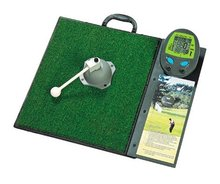 Golf, Golf Swing, Golf Chipping And Putting Training Machine