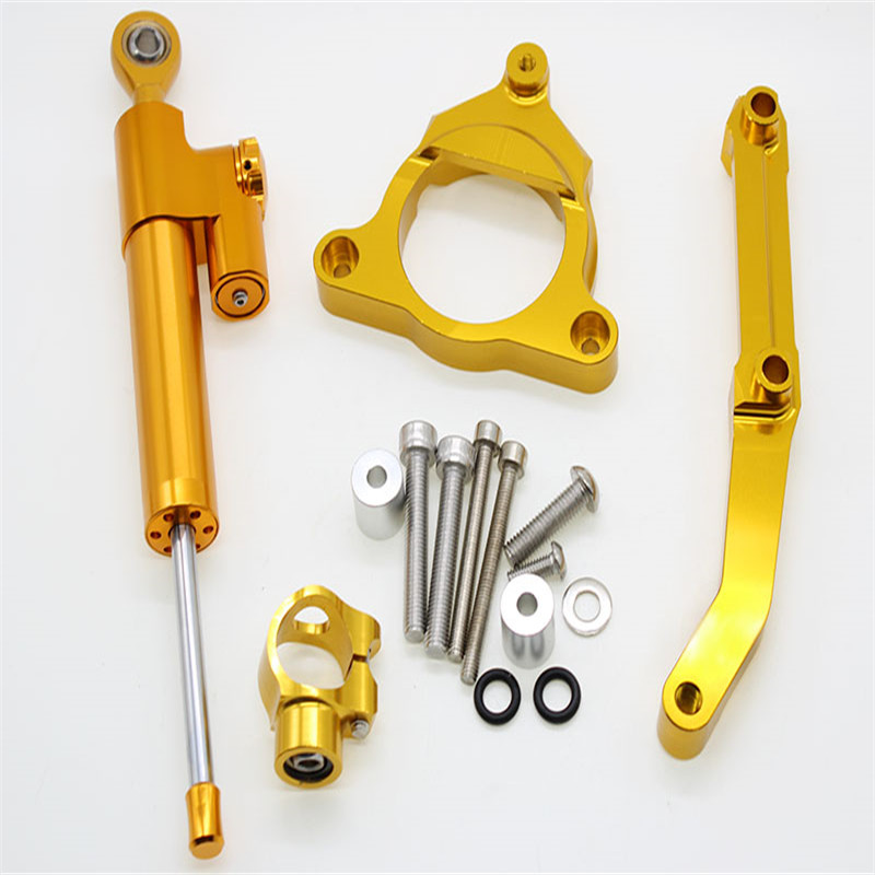 Amazon newly design hot-selling motorcycle parts CNC steering damper stabilizer bracket support kits