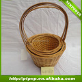 Cheap wholesale handmade Bamboo basket for home and garden