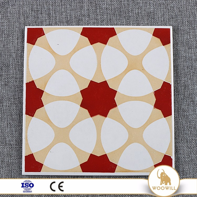 Wholesale decoration retro porcelain red stone wall tile installation