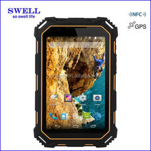 Waterproof dustproof Dropproof and shockproof IP68 tablets NFC 13MP camera rugged tablet pc GLONASS GALILEO terminal
