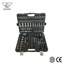 192pcs 1/4 and 1/2 and 3/8 sockets and bits Automotive Mechanics tool set kits