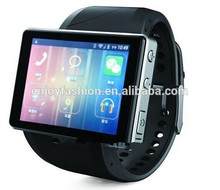 2014 new design smart watch phone android 4.0 smart phone watch WIFI, GPS, bluetooth
