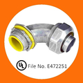 Angle Zinc Die Cast Liquid-tight Connector with