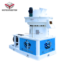 [ROTEX MASTER] 3-4ton/h biofuel pellet mill for burning wood olive husk pomace pellet making machine