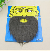P0024 Party fake beard to install props fake beard funny plus beard party supplies