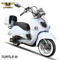 TURTLE III AURORA 150cc Italian Export Vespa Gas Scooter With Strong Powerful JNEN Engine Motorbike Motorcycles BELLA