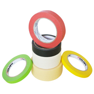 Wholesale Cream Colorful Crepe Tape Paper Painting Masking Tape Paper