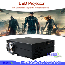 NEWEST GM60 HD Home Theater LED MINI Projector For Video Games TV Movie Support HDMI VGA AV SD Portable