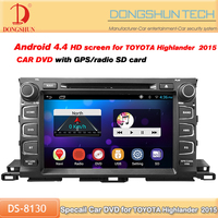 high definition 9 inch 2 din car dvd player for toyota highlander