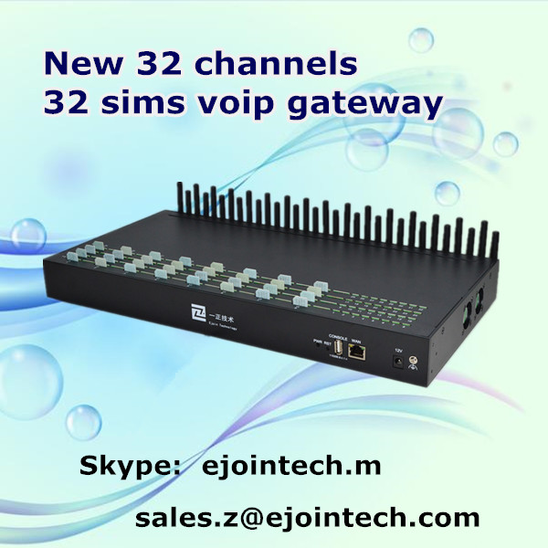 goip gsm gateway 32-port gsm sim box with sms and voice function