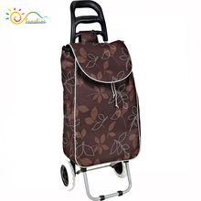 High quality 600D polyester cheap shopping trolley travel bag/Trolley luggage manufacturer