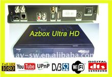 Az box ultra hd Receiver Digital Satellite