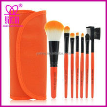 Factory price high quality 7pcs brand name makeup brush, go pro makeup brush, makeup brush kit