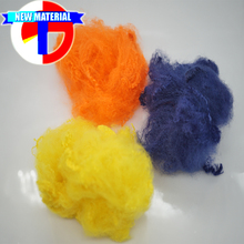 beautiful colored dope dyed polyester staple fibre for neddle punch nonwoven