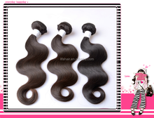 Pure hair extensions natural color virgin remy top quality brazilian hair weft
